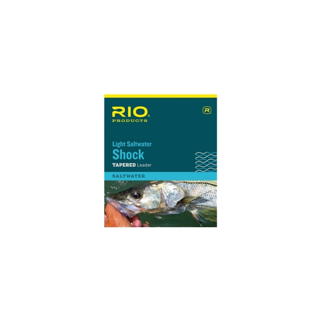 RIO - Light Saltwater Shock Leader (None)