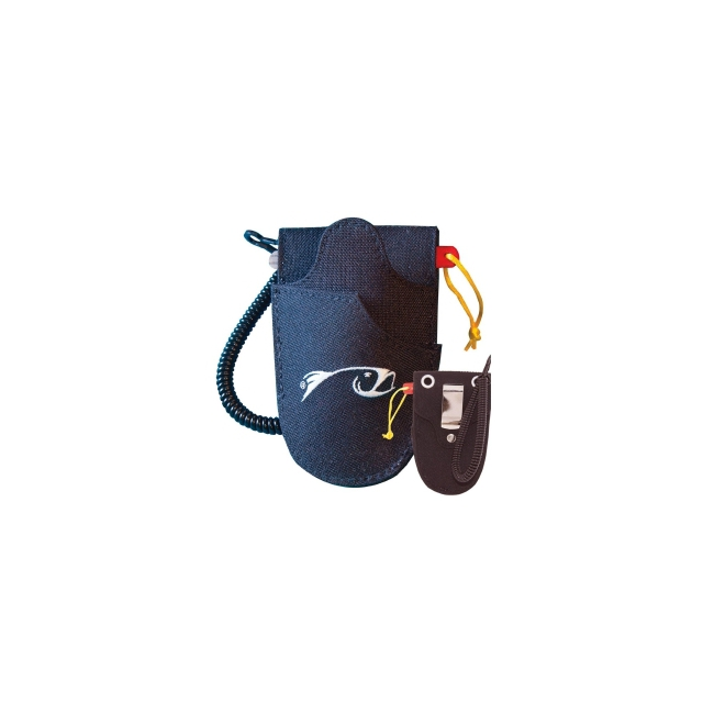 Rising - Double Holster with File & Leash