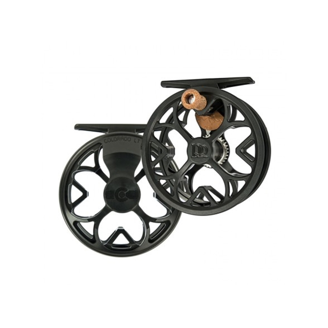 Ross - Ross Reels Colorado LT Fly Reel Fly Line Included - Matte Black,0/3