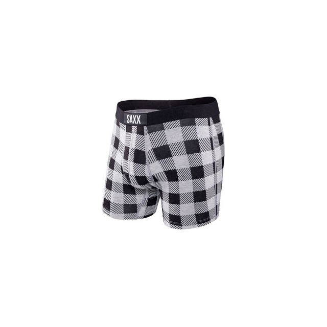 Saxx - Saxx Vibe Boxer Brief Hunter Plaid - Men's - Hunter Plaid In Size: Small
