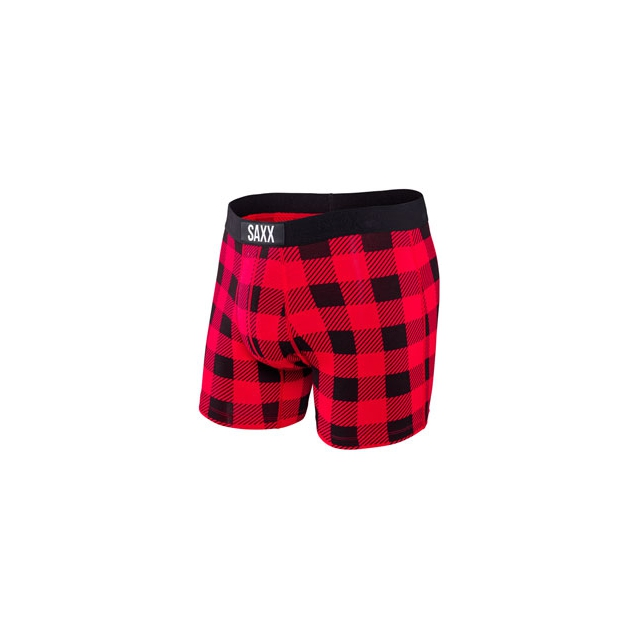 Saxx - Saxx Vibe Boxer Brief Buffalo Plaid - Men's - Buffalo Plaid In Size