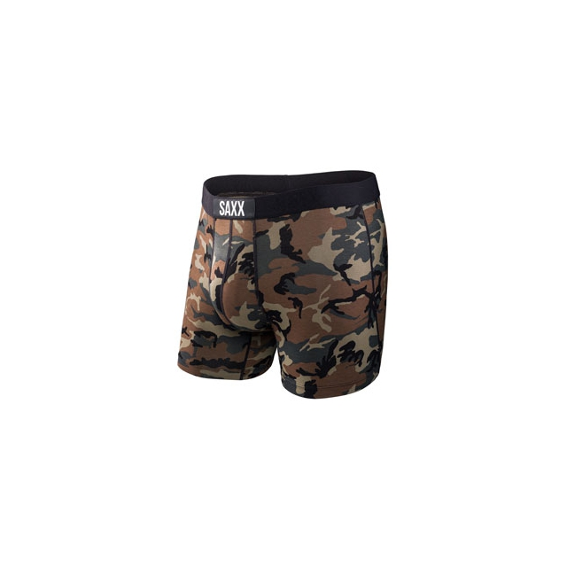 Saxx - Saxx Vibe Boxer Brief Woodland Camo - Men's - Woodland Camo In Size: Small