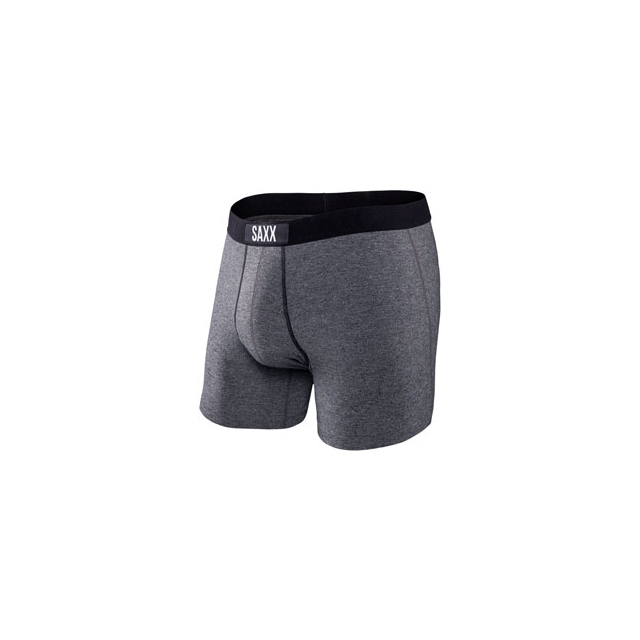 Saxx - Saxx Vibe Boxer Brief Woodland Salt and Pepper - Men's - Salt and Pepper In Size: Small