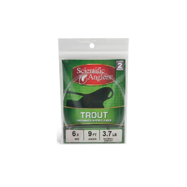Scientific Anglers - Trout Leader - 2 Pack