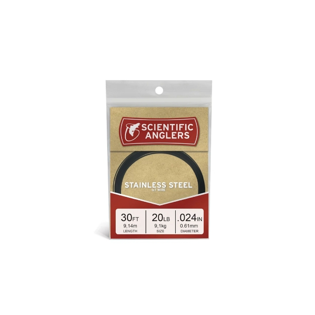 Scientific Anglers - Stainless Wire Leader