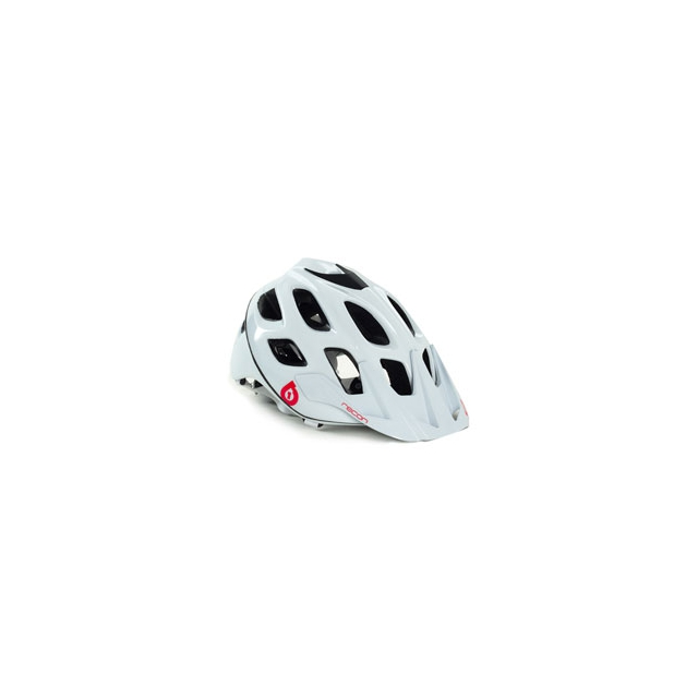 Six Six One - Recon Scout Cycling Helmet - Unisex - White/Red In Size: S-M