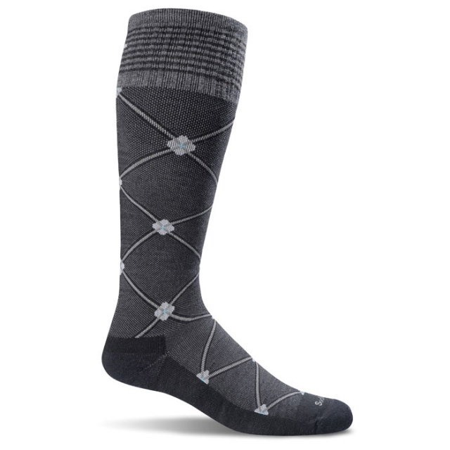 Sockwell - Elevation Sock Womens - Black Multi S/M
