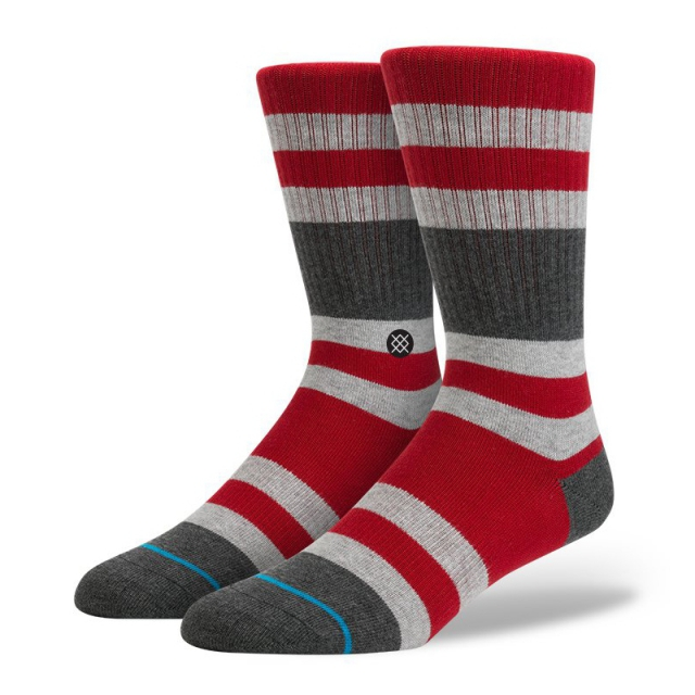 Stance - Mens Charges Red Large