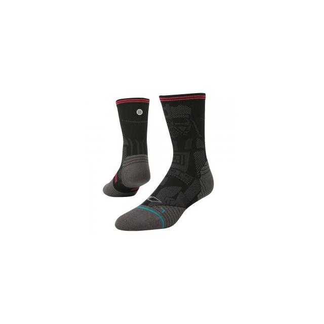 Stance - Sith Running Sock Men's, Black, L