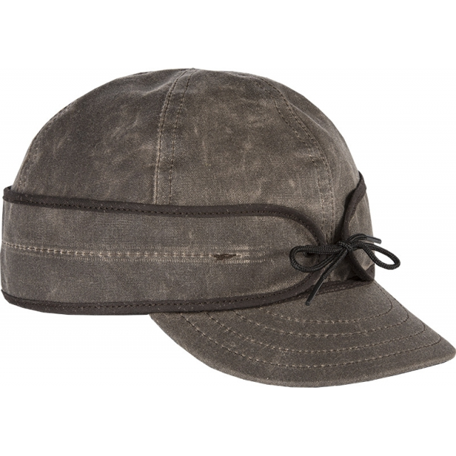 Stormy Kromer Mercantile - - The Waxed Cotton Cap - 778 - Dark Oak