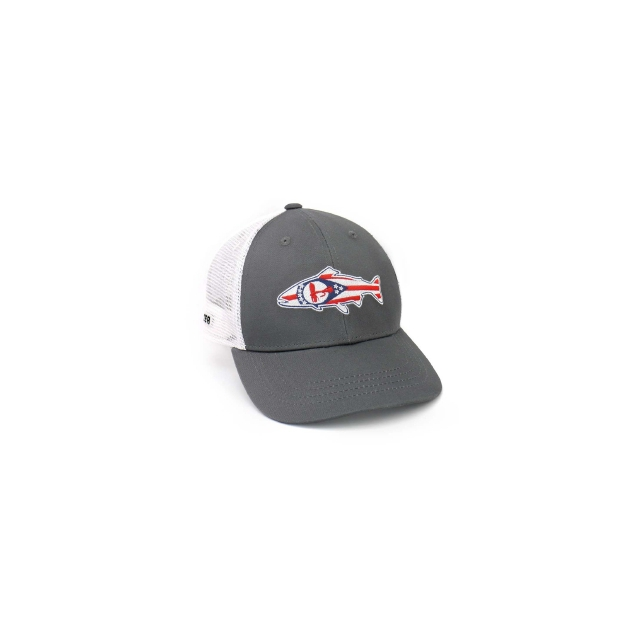 Rep Your Water - Ohio Flag Mesh Back Hat