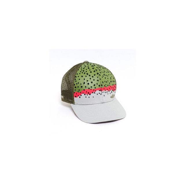 Rep Your Water - Rainbow Trout Skin Mesh Back Hat