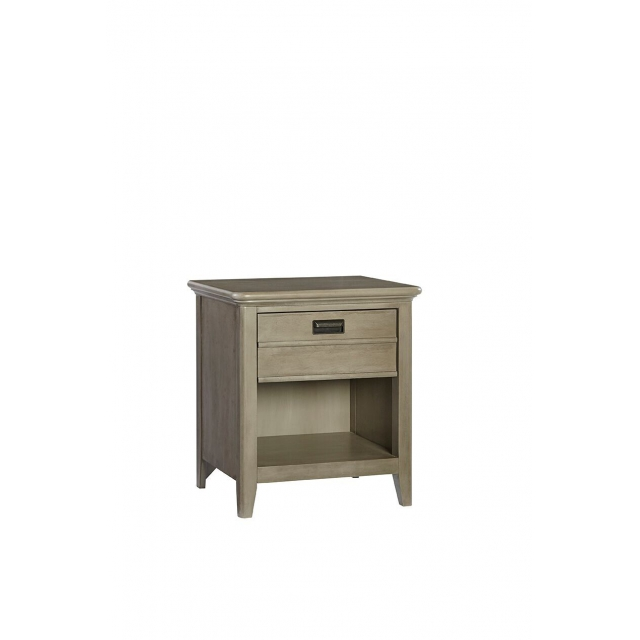 Brixy - Oak Park 1 Drawer Nightstand