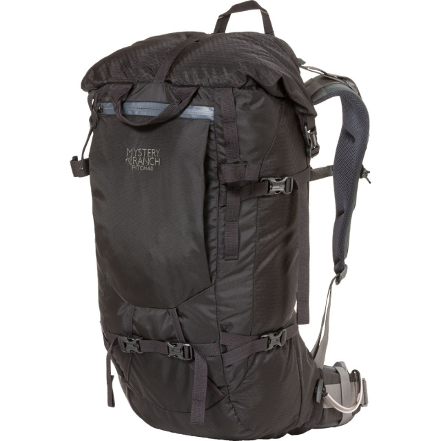 Mystery Ranch - - Pitch 40 Crag Pack - X-LARGE - Black