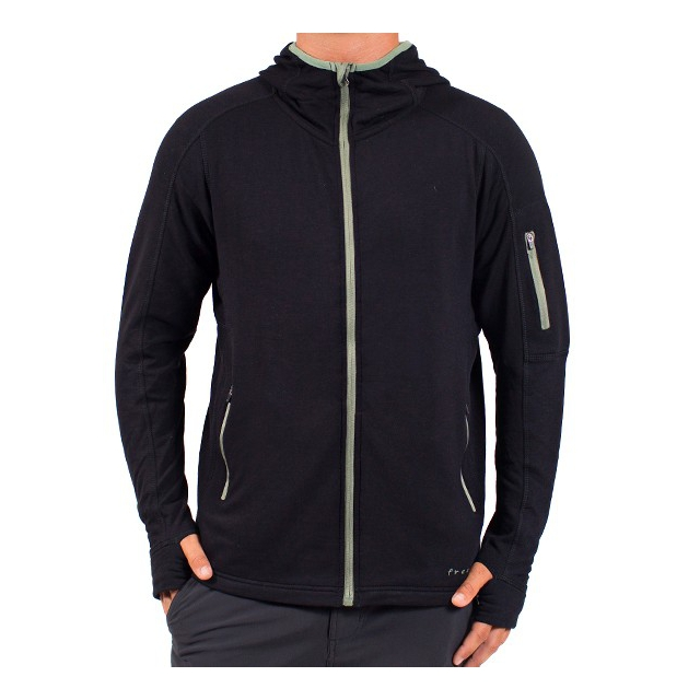 Free Fly Apparel - Men's Bamboo Full Zip Hoody