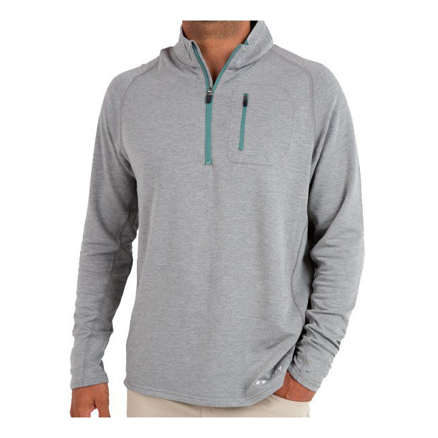 Free Fly Apparel - Men's Bamboo Fleece Quarter Zip