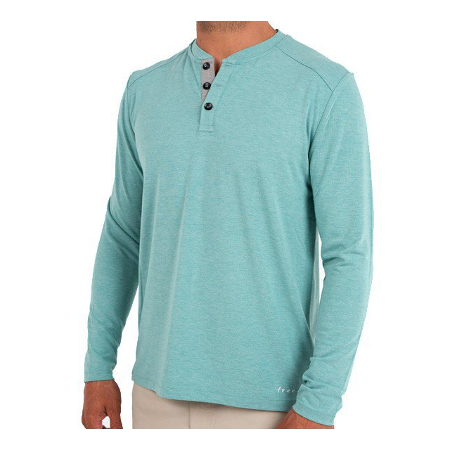 Free Fly Apparel - Men's Bamboo Henley