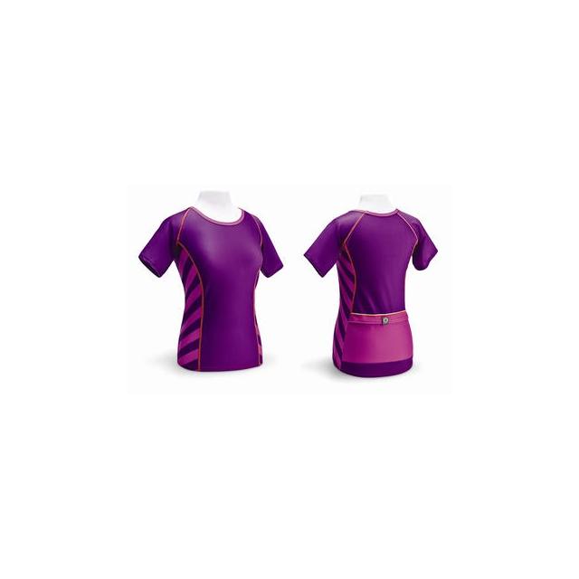 Moxie Cycling - Women's Tonal Color Block Tee Jersey