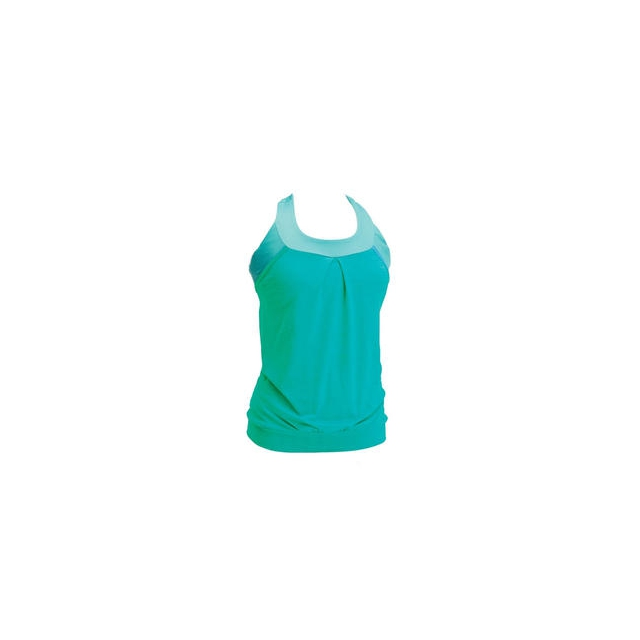 Moxie Cycling - Women's Layered Tank Jersey Solid