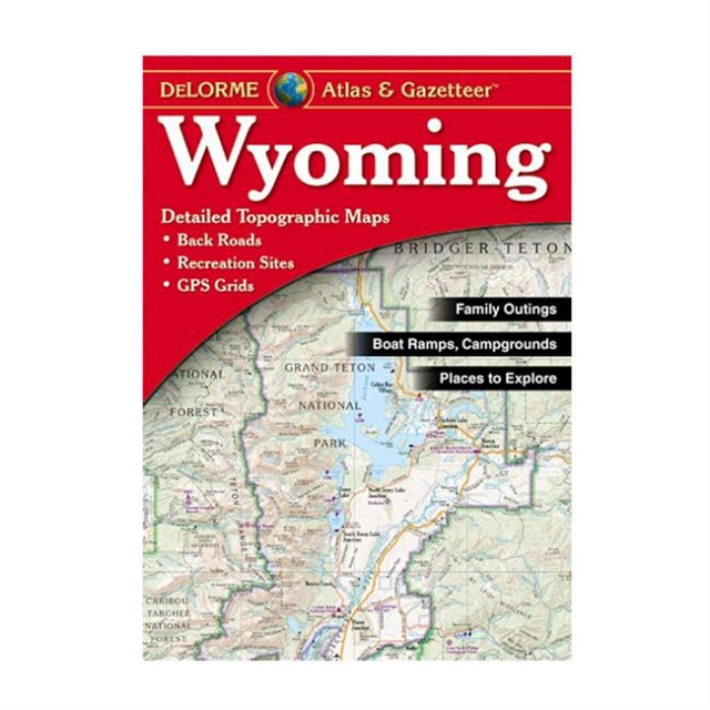 DeLorme - Wyoming Atlas & Gazetteer