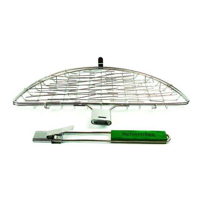 Big Green Egg - Stainless Flexi-Grilling Basket with detachable handle