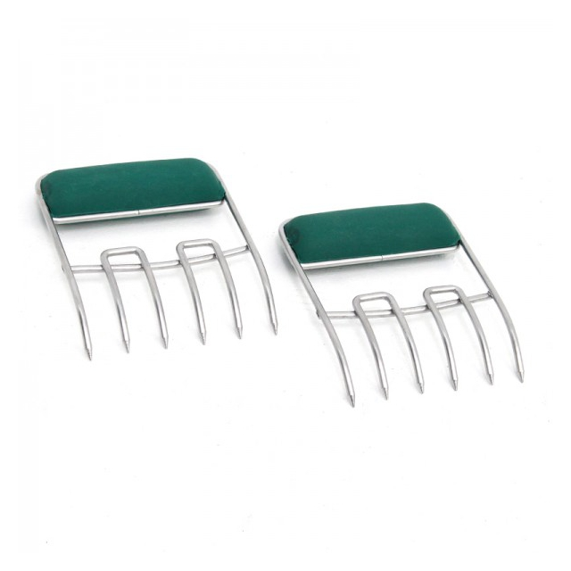 Big Green Egg - Stainless Steel Meat Claws, Soft Grip Handles