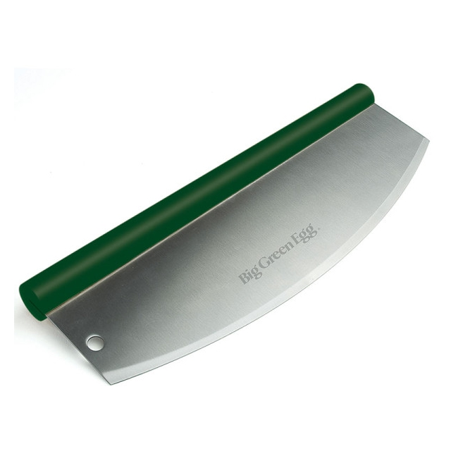 Big Green Egg - Rockin' Pizza Cutter / Solid Stainless Steel Blade