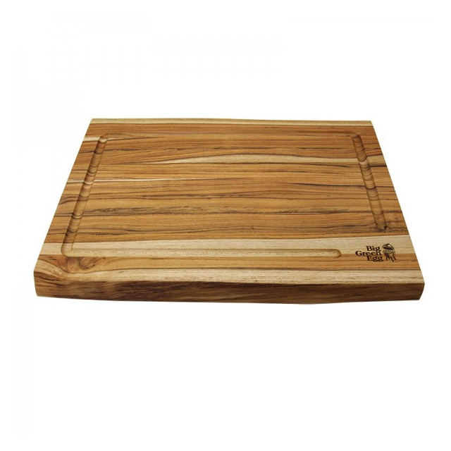 Big Green Egg - Teak Cutting Board w/ LaserEtch Logo, 19 in