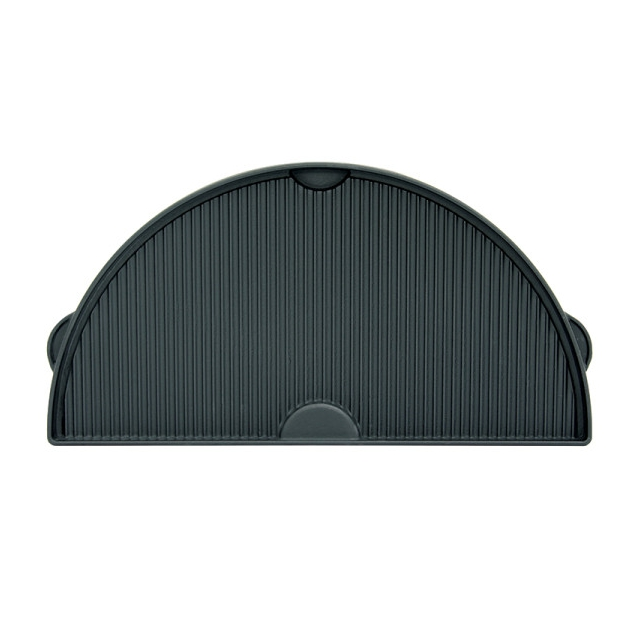 Big Green Egg - Half Moon Cast Iron Dual Side Plancha Griddle