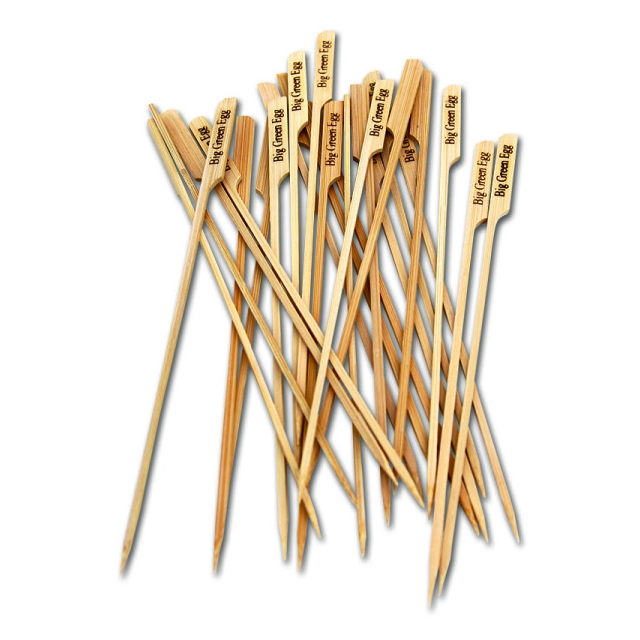 Big Green Egg - BGE All Natural Bamboo Skewers, 25 per pack
