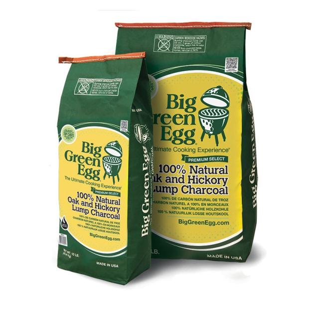 Big Green Egg - BGE 100% Natural Oak and Hickory Lump Charcoal