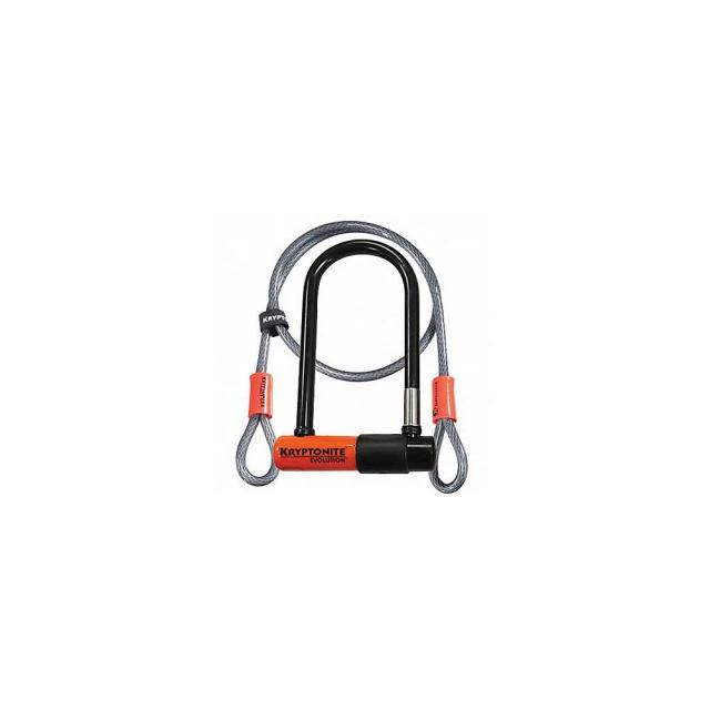 KHS Bicycles - Kryptonite Evolution Mini-7 U-Lock with 4FT Flex