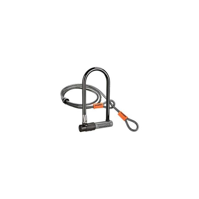 KHS Bicycles - Kryptonite KryptoLok Series 2 STD U-Lock with 4FT Flex