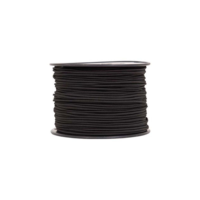 "Liberty Mountain - shock cord 1/8""x500' black"