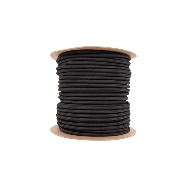 "Liberty Mountain - shock cord 3/8""x300' black"