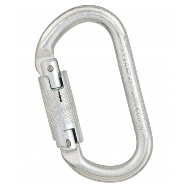 Liberty Mountain - steel 30kn oval twist lock
