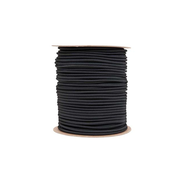 "Liberty Mountain - shock cord 1/4""x500' black"