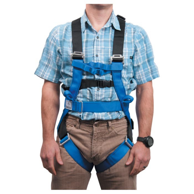 Liberty Mountain - rope course full-body harness blue m/l