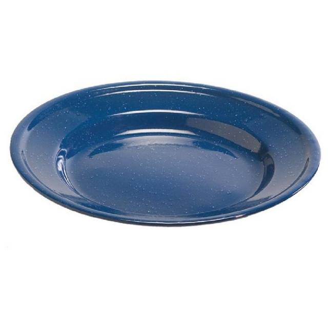 "Liberty Mountain - Enamel Dinner Plate 10"""