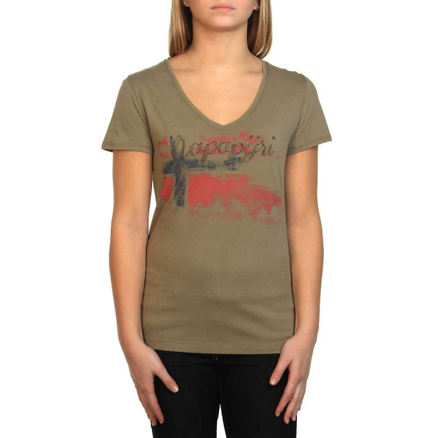 Napapijri - Women's Simiane V-Neck SS Tee