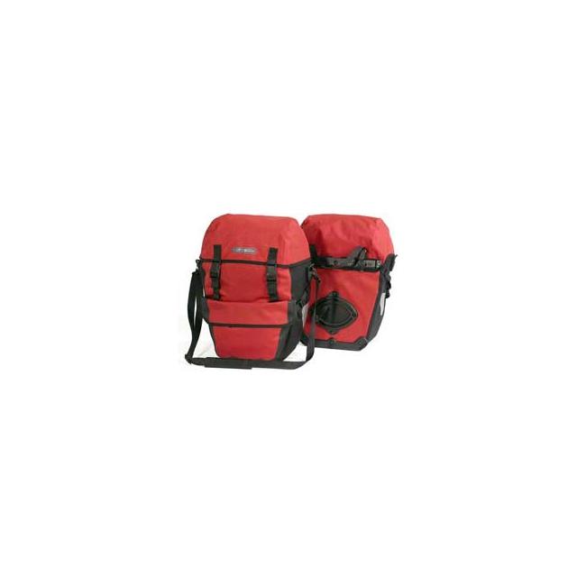 Ortlieb - Bike-Packer Plus Rear Waterproof Pannier - Red/Black