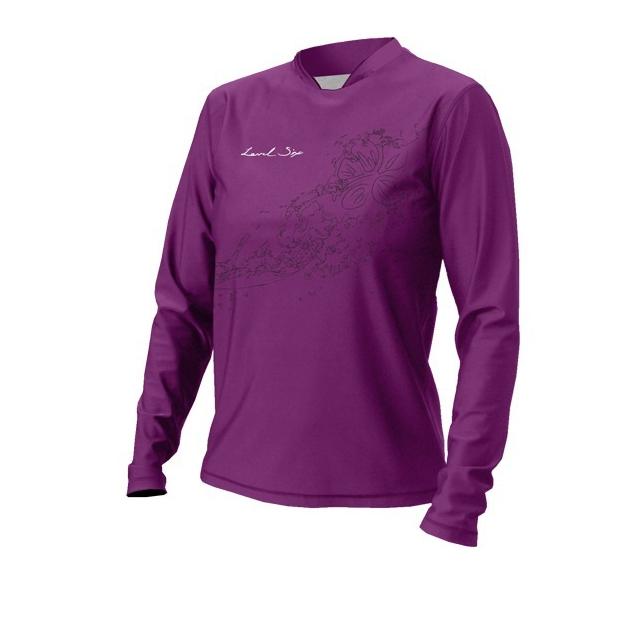 Level Six - - Coastal L/S Sun Shirt Women - X-Small - Violet