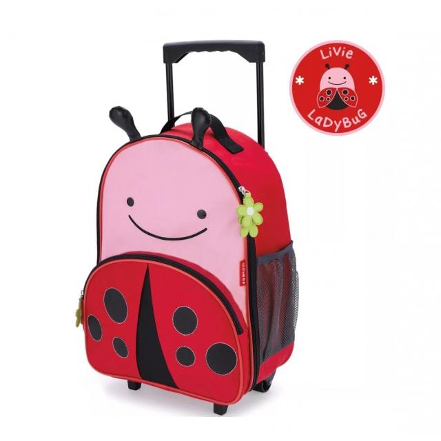 Skip Hop - - Zoo Luggage Kids Rolling - Ladybug