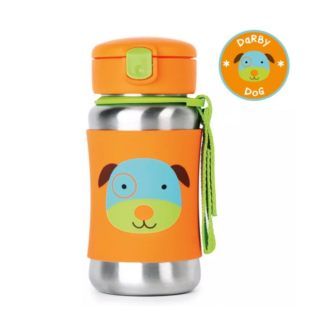 Skip Hop - - Zoo Stainless Steel Bottles - Dog