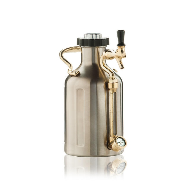 Growlerwerks - uKeg 64oz Stainless Steel