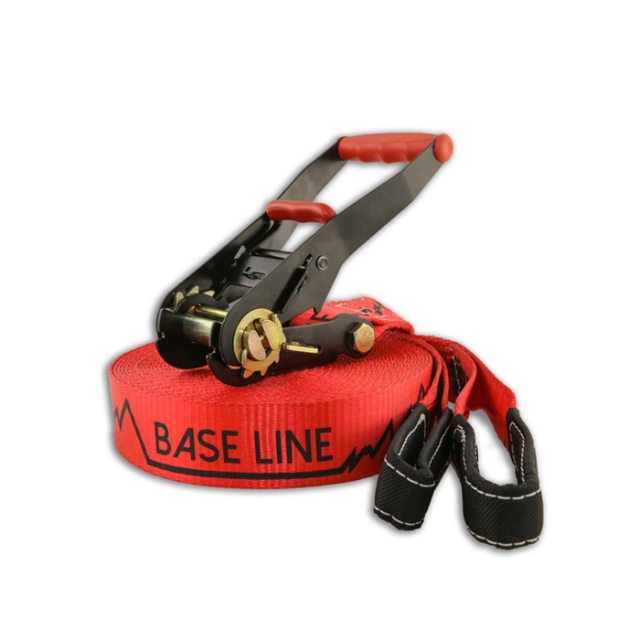 Si - baseline slack kit 85ft red