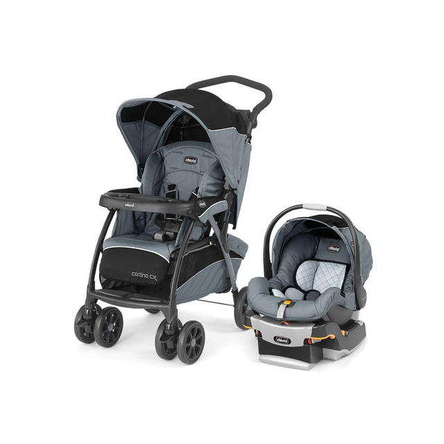 Chicco - Cortina Cx Travel System Iron
