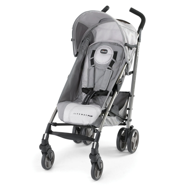 Chicco - Lite Way Plus Stroller Silver