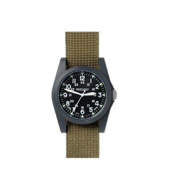 M.h. Bertucci, Inc. - A-3P Sportsmen Vintage Field Watch - Olive Nylon