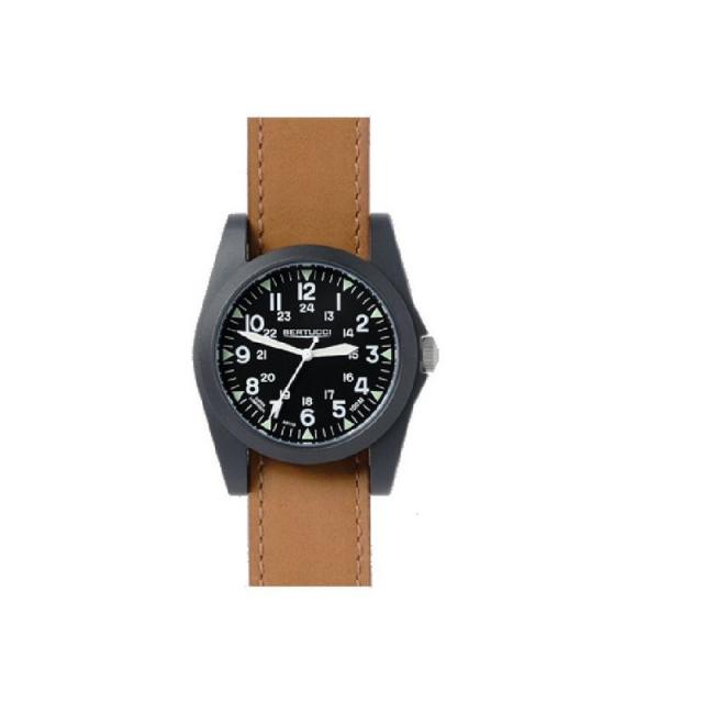 M.h. Bertucci, Inc. - A-3P Sportsmen Vintage Field Watch - Tan Leather